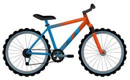 Bicicleta dos desenhos animados Imagem de Stock