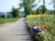Bicicleta dos miúdos Foto de Stock Royalty Free