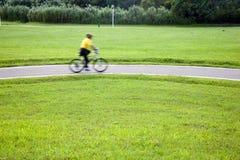 Bicicleta e a estrada Fotos de Stock