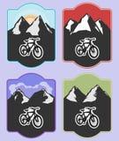 A bicicleta e um estilo de vida saudável são inseparáveis Fotografia de Stock Royalty Free