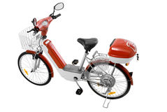 Bicicleta elétrica Imagens de Stock