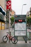 Bicicleta em Barcelona Foto de Stock Royalty Free