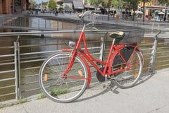 Bicicleta em Berlim fotografia de stock