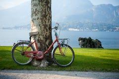 Bicicleta em Italy foto de stock