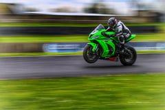 Bicicleta em Le Mans imagens de stock royalty free