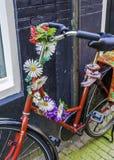 Bicicleta en Amsterdam Fotografía de archivo libre de regalías