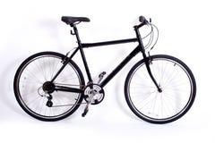 Bicicleta en blanco Foto de archivo libre de regalías
