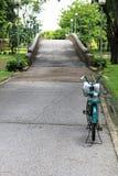 Bicicleta en manera Imágenes de archivo libres de regalías