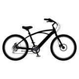 Bicicleta en vector Foto de archivo libre de regalías