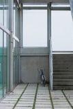 Bicicleta en zona urbana imagenes de archivo
