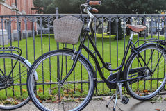 Bicicleta estacionada Fotografia de Stock
