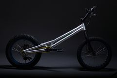 Bicicleta experimental fotos de stock