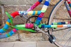 Bicicleta feita sob encomenda Fotografia de Stock