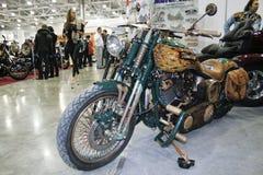 Bicicleta feita sob encomenda Abordage Fotografia de Stock