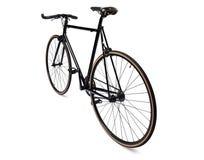 Bicicleta fija negra del engranaje Imagen de archivo