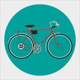 Bicicleta fixa da engrenagem ilustração royalty free