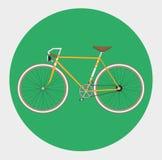 Bicicleta fixa da engrenagem ilustração stock