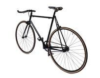 Bicicleta fixa preta da engrenagem Imagem de Stock Royalty Free