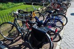 Bicicleta hermosa de Amsterdam Fotos de archivo libres de regalías