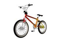 Bicicleta ilustrada Imágenes de archivo libres de regalías