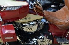 Bicicleta indiana clássica Fotografia de Stock Royalty Free