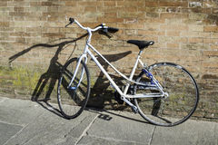 Bicicleta italiana vieja Imagen de archivo libre de regalías