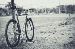 Bicicleta lateral da maneira Imagem de Stock