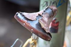 Bicicleta muy vieja Imagen de archivo libre de regalías