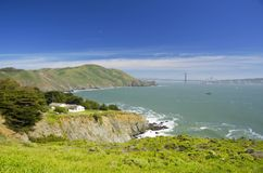 Bicicleta na baía de San Francisco, Califórnia, EUA Imagem de Stock Royalty Free