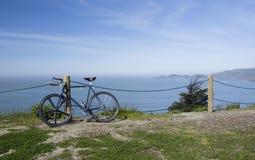 Bicicleta na baía de San Francisco, Califórnia, EUA Fotos de Stock