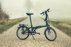 Bicicleta na estrada! Fotografia de Stock