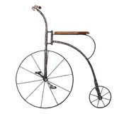 Bicicleta pasada de moda Foto de archivo libre de regalías