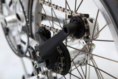 Bicicleta plegable Foto de archivo libre de regalías