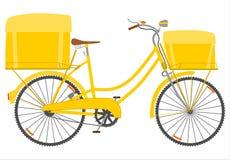 Bicicleta do correio. ilustração stock