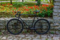 Bicicleta preta Fotos de Stock Royalty Free