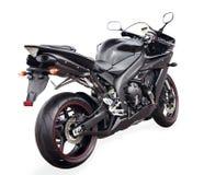 Bicicleta preta do esporte Imagem de Stock