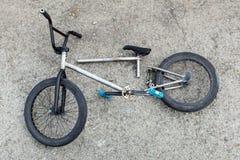 A bicicleta quebrada Foto de Stock Royalty Free