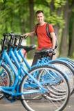 Bicicleta rentable imagen de archivo