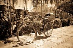 Bicicleta retra Fotos de archivo libres de regalías
