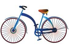 Bicicleta retra Imagen de archivo libre de regalías