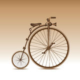 Bicicleta retra Fotografía de archivo