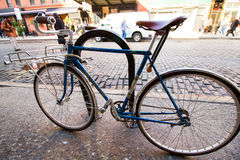 Bicicleta retra Imágenes de archivo libres de regalías