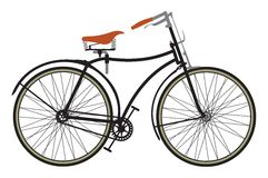 Bicicleta retro Fotos de Stock