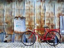 Bicicleta retro Fotos de Stock