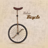 Bicicleta retro do vintage Fotografia de Stock