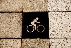 Bicicleta solamente Imagenes de archivo
