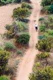 Bicicleta sozinha Imagem de Stock