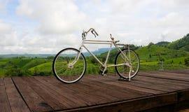 Bicicleta sozinha Imagem de Stock Royalty Free