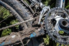 Bicicleta sucia Imagenes de archivo