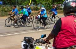 Bicicleta, triciclo olhado Fotografia de Stock Royalty Free